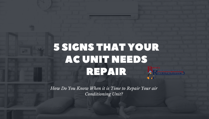 5 signs your ac needs repaired