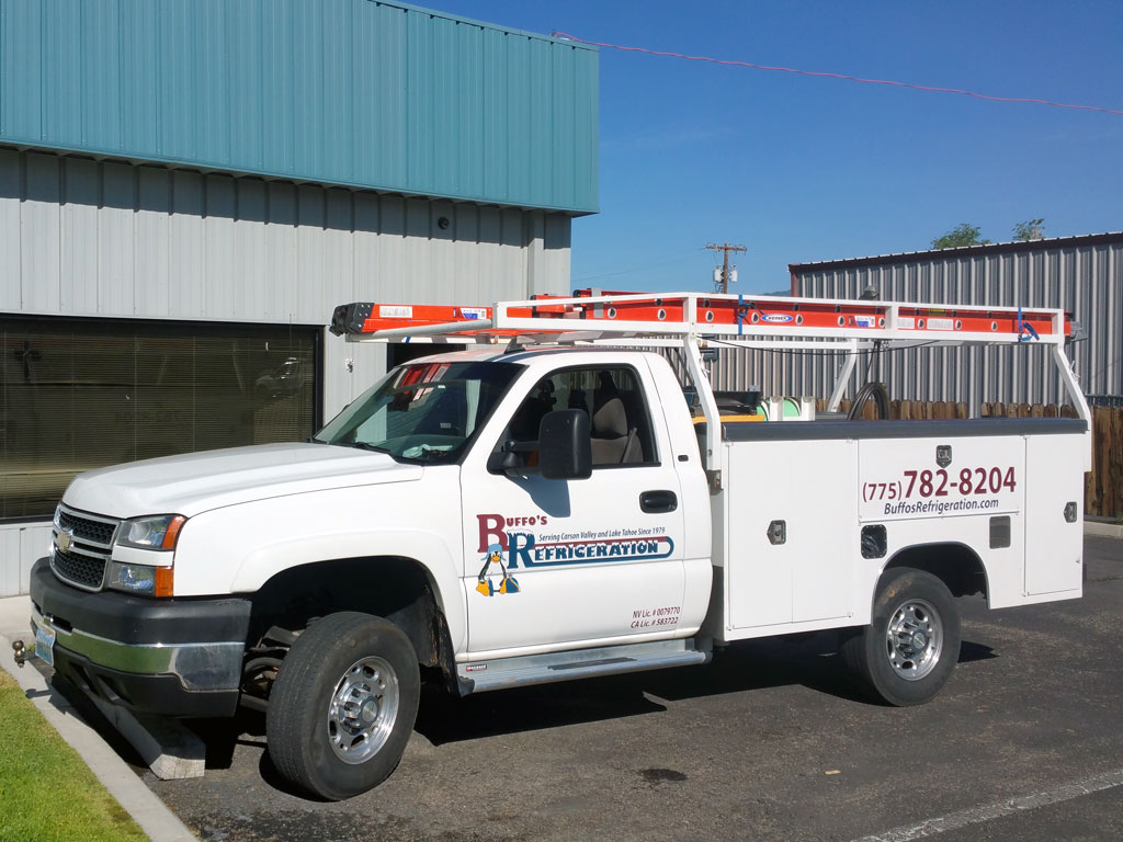 Buffo's Refrigeration Mobile Fleet